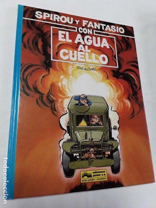 SPIROU 26 CON EL AGUA AL CUELLO DETOME & JANRY COMO NUEVO , GRIJALBO ,1991. (Tebeos y Comics - Grijalbo - Spirou)