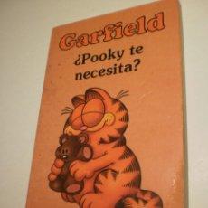 Cómics: GARFIELD Nº 3 ¿POOKY TE NECESITA? GRIJALBO 1993 (ESTADO NORMAL, CON NOMBRE EN EL INTERIOR). Lote 203162337
