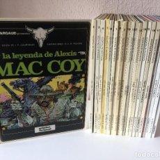 Cómics: MAC COY COMPLETA 21 TOMOS - GOURMELEN / A. H. PALACIOS - JUNIOR/GRIJALBO/NORMA - 1978 - ¡COMO NUEVA!. Lote 201311088
