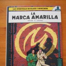 Cómics: LA MARCA AMARILLA - LAS AVENTURAS DE BLAKE Y MORTIMER Nº 3 - EDGAR P. JACOBS - JUNIOR, GRIJALBO (H1). Lote 203318678