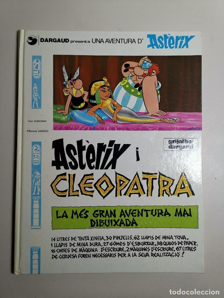 Cómics: ASTERIX I CLEOPATRA...EN CATALAN---1984 - Foto 2 - 203382598