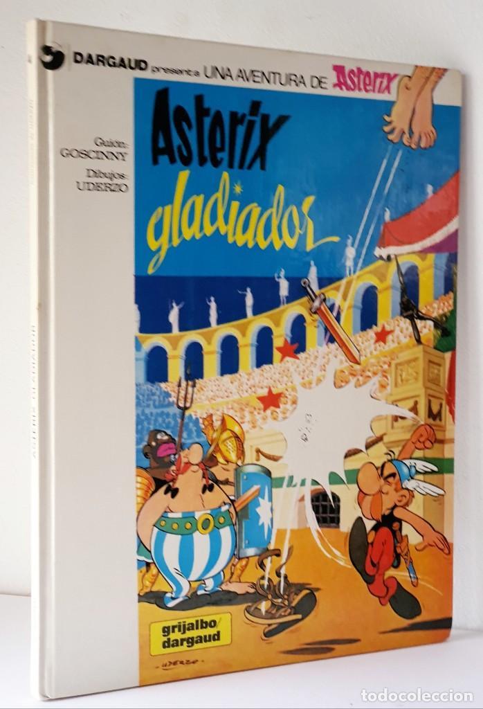 UNA AVENTURA DE ASTERIX *** ASTERIX GLADIADOR (Tebeos y Comics - Grijalbo - Asterix)