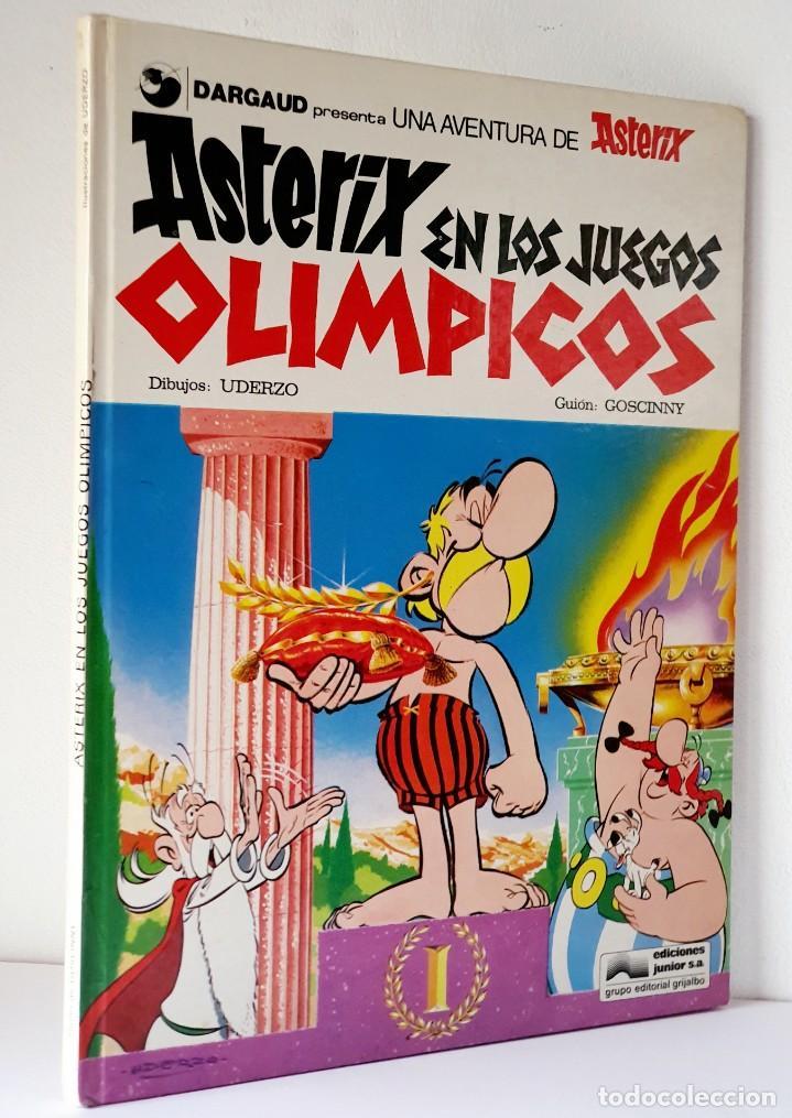 UNA AVENTURA DE ASTERIX *** ASTERIX EN LOS JUEGOS OLIMPICOS (Tebeos y Comics - Grijalbo - Asterix)