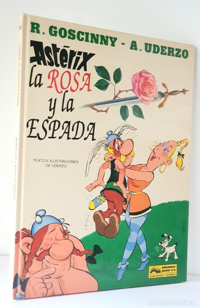 ASTERIX LA ROSA Y LA ESPADA (Tebeos y Comics - Grijalbo - Asterix)