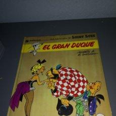 Cómics: EST 12. A 51. COMIC DE LUCKY LUKE. EL GRAN DUQUE. TAPA DURA. EDITORIAL GRIJALBO. Lote 203977183