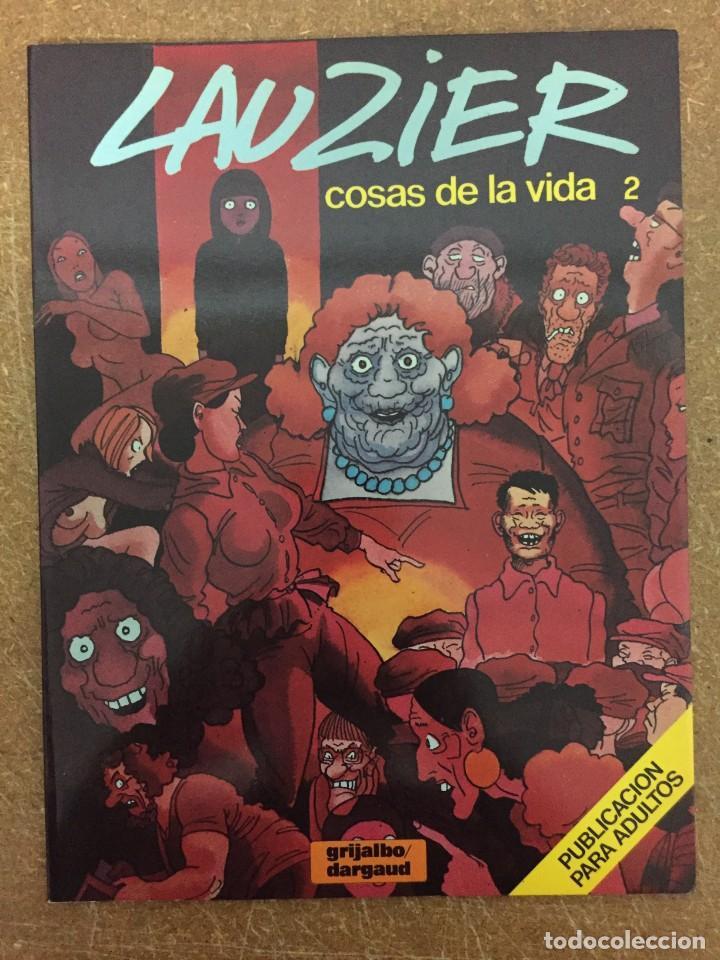COSAS DE LA VIDA 2 (LAUZIER) (Tebeos y Comics - Grijalbo - Otros)