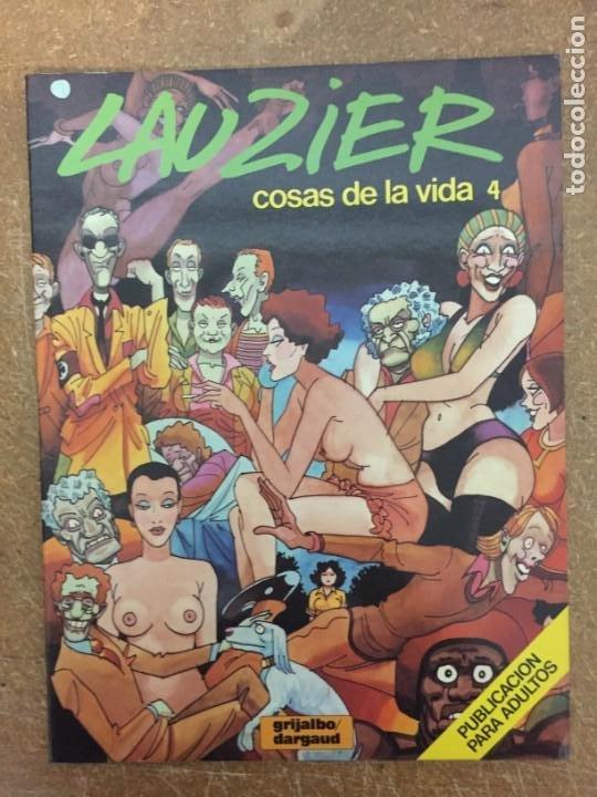COSAS DE LA VIDA 4 (LAUZIER) (Tebeos y Comics - Grijalbo - Otros)