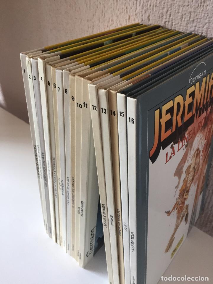 Cómics: JEREMIAH COMPLETA 16 TOMOS - HERMANN - JUNIOR / GRIJALBO - 1980 - ¡COMO NUEVA! - Foto 4 - 201299383