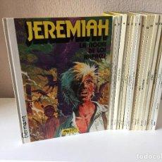 Cómics: JEREMIAH COMPLETA 16 TOMOS - HERMANN - JUNIOR / GRIJALBO - 1980 - ¡COMO NUEVA!. Lote 201299383