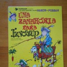 Cómics: UNA ZANAHORIA PARA IZNOGUD - LAS AVENTURAS DEL CALIFA HARUN EL PUSSAH Nº 1 - GOSCINNY - JUNIOR (W2). Lote 204125117