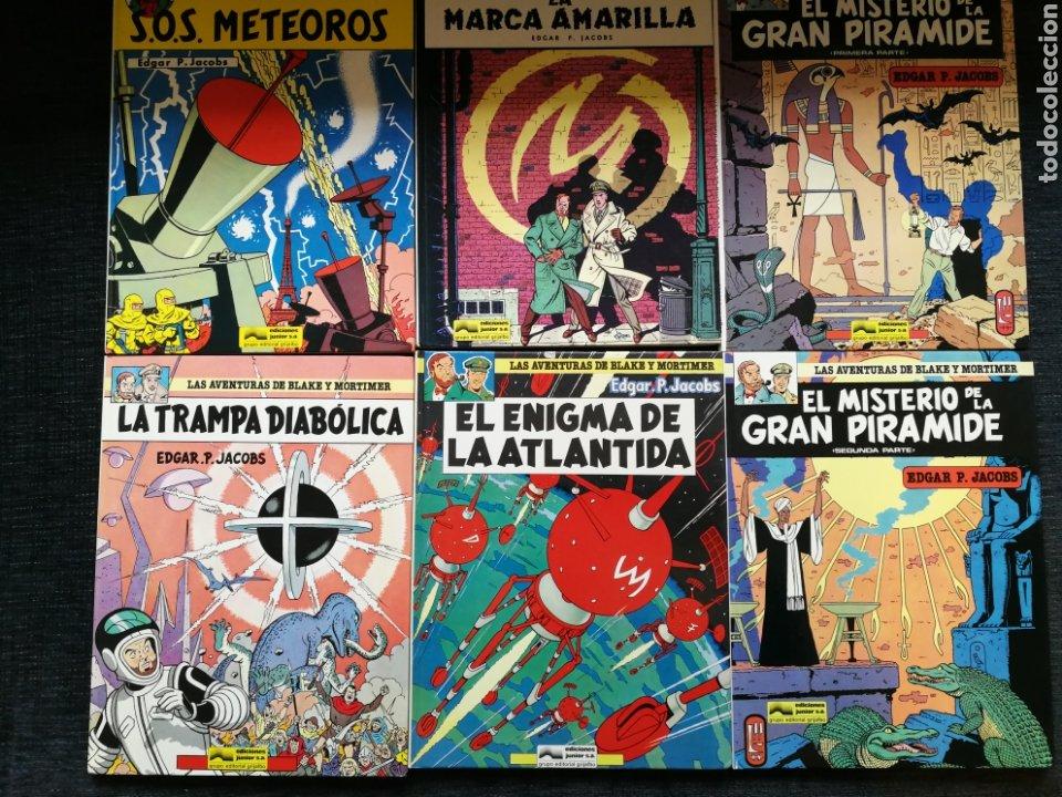 BLAKE Y MORTIMER COMPLETA 12 NUMEROS (Tebeos y Comics - Grijalbo - Otros)