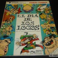 Cómics: EL DÍA DE LOS LOCOS. LAS AVENTURAS DEL CALIFA HARUN EL PUSSAH. 2. Lote 204363210