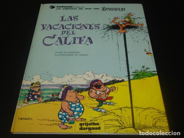 LAS VACACIONES DEL CALIFA 12 (Tebeos y Comics - Grijalbo - Iznogoud)