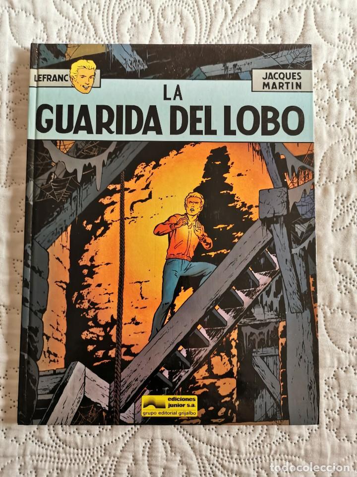 LEFRANC - LA GUARIDA DEL LOBO N. 4 (Tebeos y Comics - Grijalbo - Lefranc)