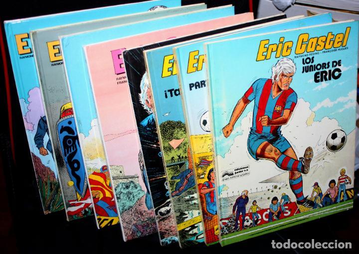 Cómics: ERIC CASTEL (REDING & HUGUES )- Tomos nº 01,02,03,06,07,12,14 y 15 - (de 15) - Foto 2 - 204518536