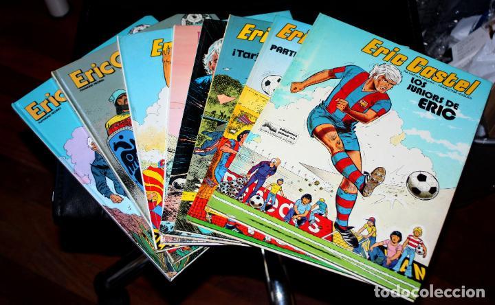 ERIC CASTEL (REDING & HUGUES )- TOMOS Nº 01,02,03,06,07,12,14 Y 15 - (DE 15) (Tebeos y Comics - Grijalbo - Eric Castel)