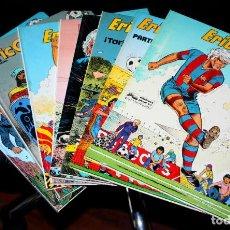 Cómics: ERIC CASTEL (REDING & HUGUES )- TOMOS Nº 01,02,03,06,07,10,12,14 Y 15 - (DE 15). Lote 204518536