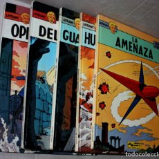 Cómics: LEFRANC (JUNIOR, 1986-1987) DE JACQUES MARTIN Y CHAILLET. NºS 01,02,04,05 Y 06.(1ª EDICIÓN). Lote 204521847