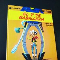 Comics: BASTANTE NUEVO LUCKY LUKE 7 EL 7° DE CABALLERIA GRIJALBO TAPA DURA. Lote 204760095
