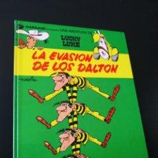 Cómics: BASTANTE NUEVO LUCKY LUKE 16 LA EVASION DE LOS DALTON GRIJALBO TAPA DURA. Lote 204763666
