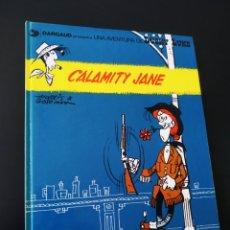 Cómics: EXCELENTE ESTADO LUCKY LUKE 25 CALAMITY JANE GRIJALBO TAPA DURA. Lote 204765262