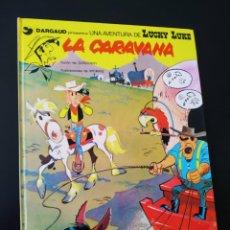 Cómics: EXCELENTE ESTADO LUCKY LUKE 12 LA CARAVANA GRIJALBO TAPA DURA. Lote 204765565