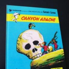 Cómics: EXCELENTE ESTADO LUCKY LUKE 17 CANYON APACHE GRIJALBO TAPA DURA. Lote 204765982