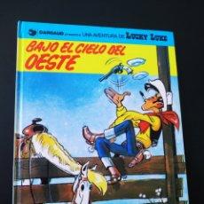 Cómics: EXCELENTE ESTADO LUCKY LUKE 52 BAJO EL CIELO DEL OESTE GRIJALBO TAPA DURA. Lote 204768098