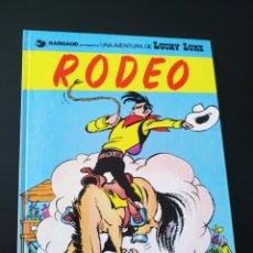 Cómics: EXCELENTE ESTADO LUCKY LUKE 50 RODEO GRIJALBO TAPA DURA. Lote 204768267