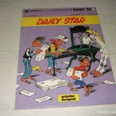Cómics: COMIC LUCKY LUKE DAILY STAR DE GRIJALBO DARGAUD TAPA DURA. Lote 204846451