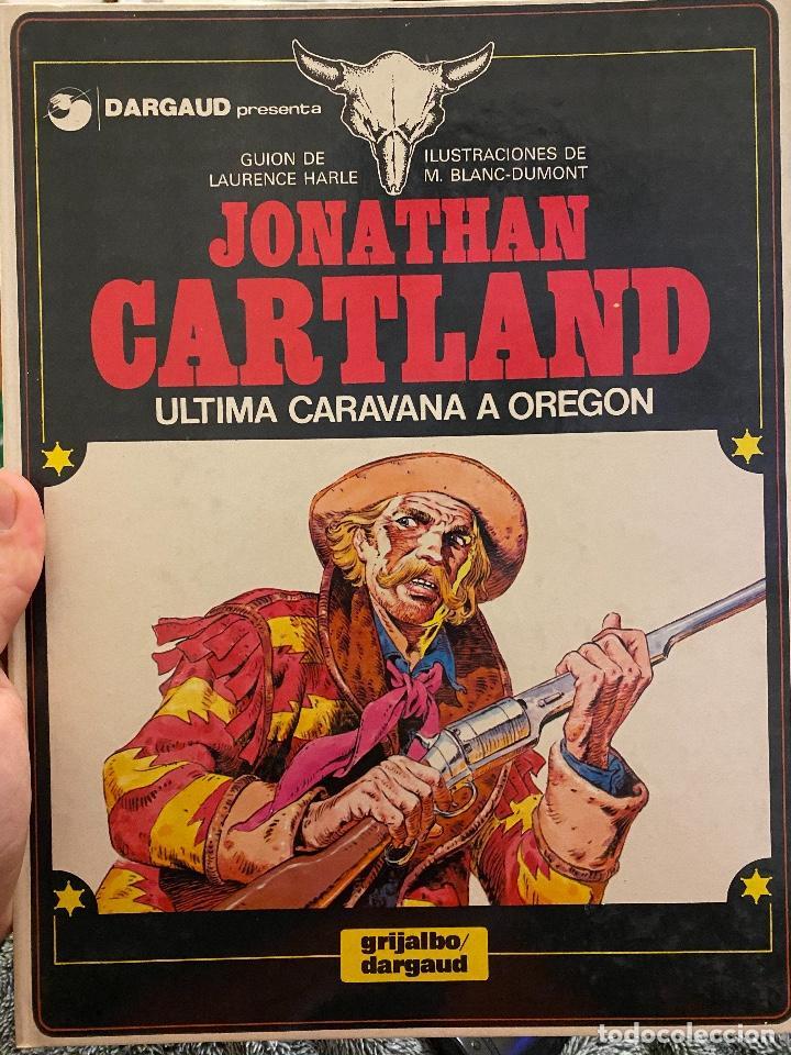 JONATHAN CARTLAND NUMERO 01: ULTIMA CARAVANA A OREGON (Tebeos y Comics - Grijalbo - Otros)