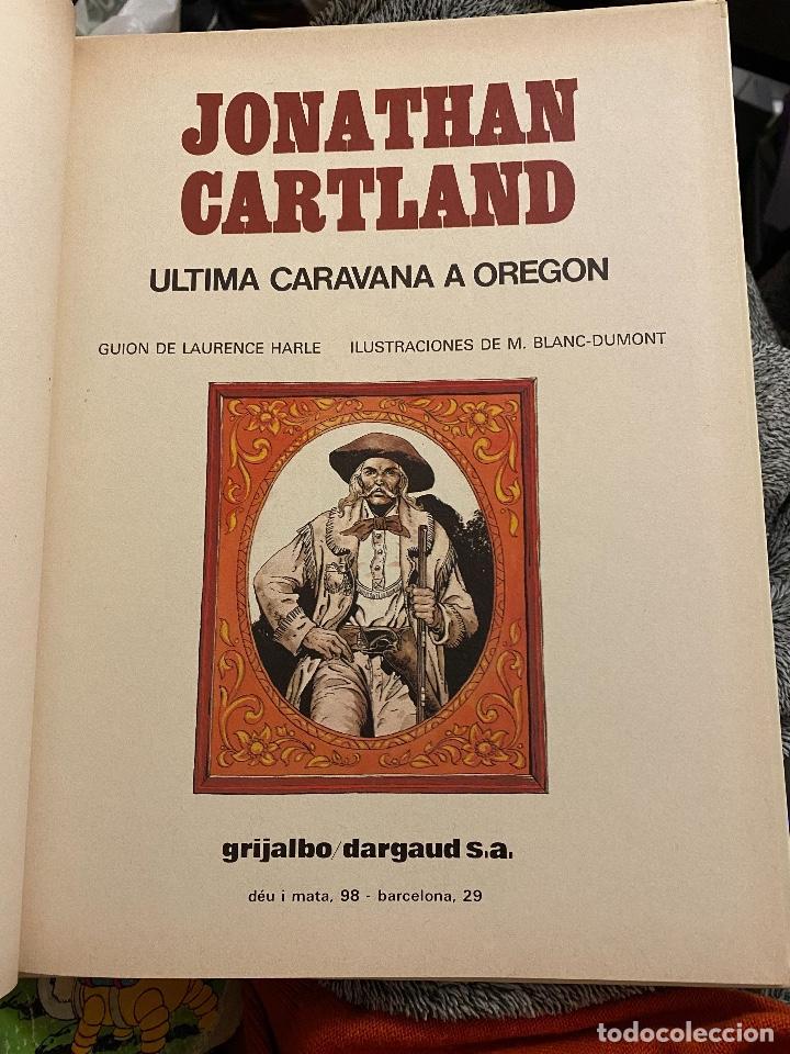 Cómics: Jonathan Cartland numero 01: Ultima caravana a Oregon - Foto 2 - 205075358
