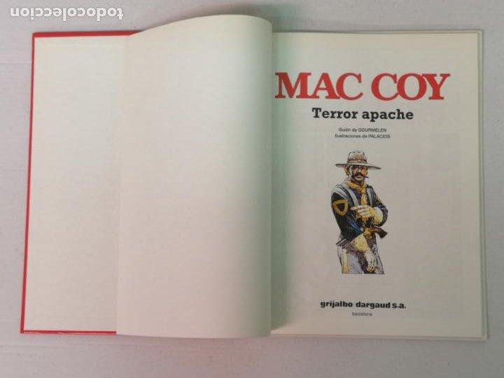 Cómics: MAC COY TERROR APACHE GRIJALBO - Foto 3 - 205146493