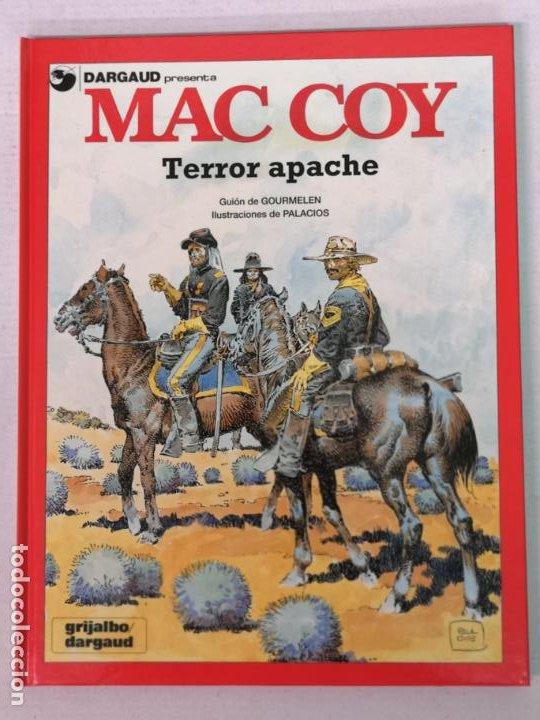 MAC COY TERROR APACHE GRIJALBO (Tebeos y Comics - Grijalbo - Mac Coy)