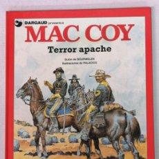 Cómics: MAC COY TERROR APACHE GRIJALBO. Lote 205146493