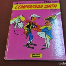 Cómics: L'EMPERADORS SMITH - LUCKY LUKE - IDIOMA CATALÀ ANY 1991 - COB. Lote 205286081