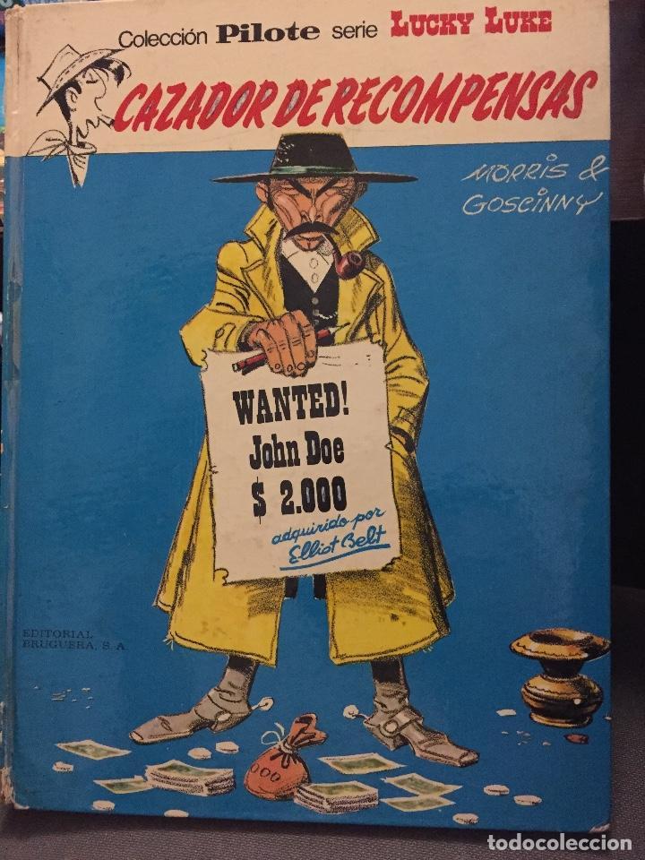 LUCKY LUKE ( CAZADOR DE RECOMPENSAS ) EL NÚMERO 42 DE EDITORIAL GRIJALBO (Tebeos y Comics - Grijalbo - Otros)