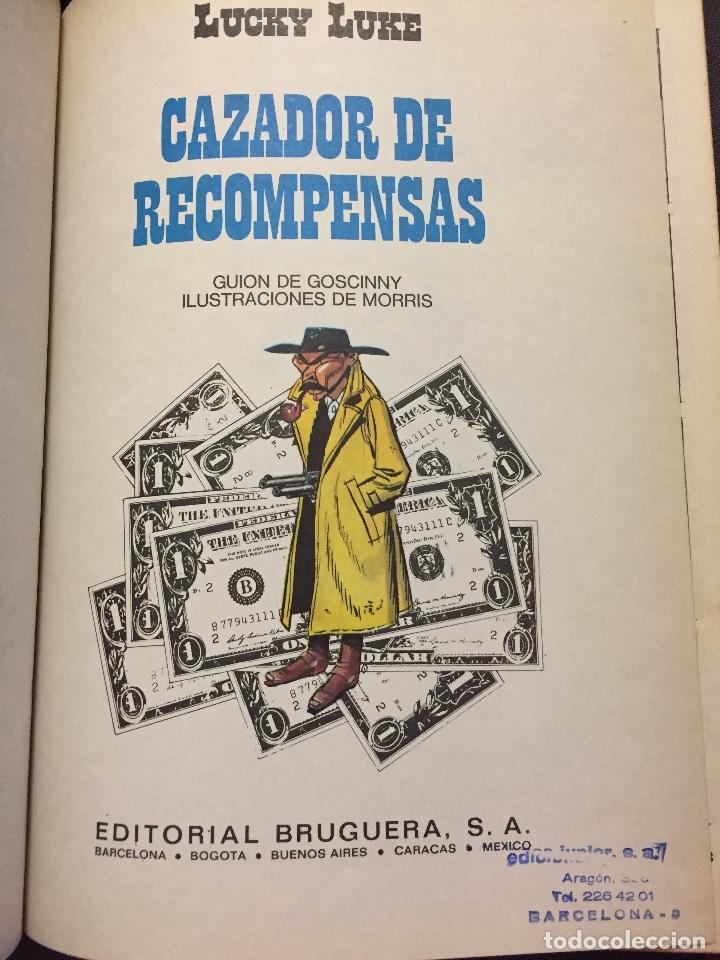 Cómics: LUCKY LUKE ( CAZADOR DE RECOMPENSAS ) EL NÚMERO 42 DE EDITORIAL GRIJALBO - Foto 4 - 205325267