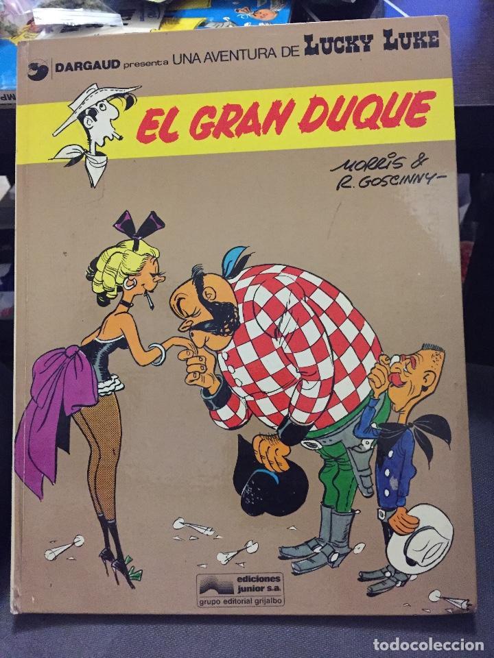 LUCKY LUKE 3 EL GRAN DUQUE ( GOSCINNY MORRIS ) ¡BUEN ESTADO! TAPA DURA GRIJALBO (Tebeos y Comics - Grijalbo - Otros)