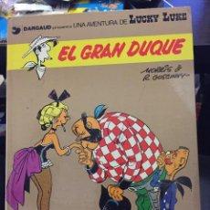 Cómics: LUCKY LUKE 3 EL GRAN DUQUE ( GOSCINNY MORRIS ) ¡BUEN ESTADO! TAPA DURA GRIJALBO. Lote 205325695