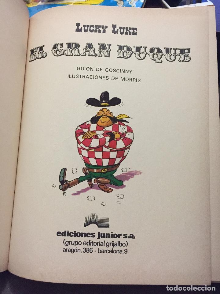 Cómics: LUCKY LUKE 3 EL GRAN DUQUE ( GOSCINNY MORRIS ) ¡BUEN ESTADO! TAPA DURA GRIJALBO - Foto 2 - 205325695