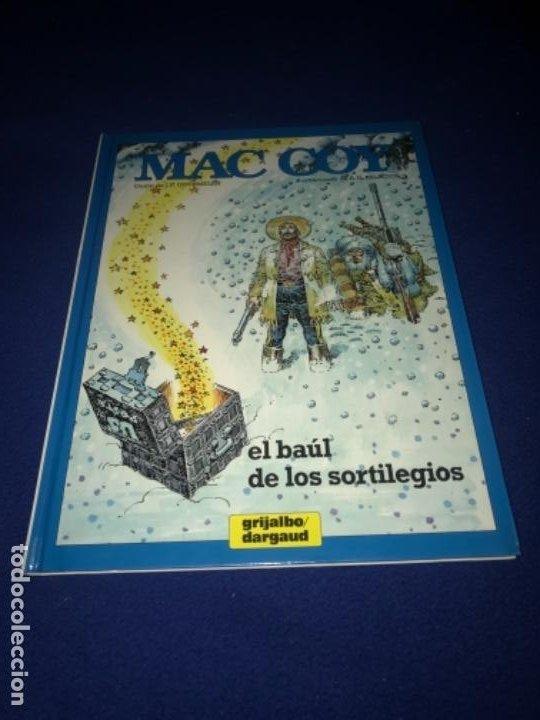 MAC COY Nº 18 EL BAÚL DE LOS SORTILEGIOS. GRIJALBO 1994 MUY BUEN ESTADO DIFICIL !!!! (Tebeos y Comics - Grijalbo - Mac Coy)