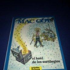 Cómics: MAC COY Nº 18 EL BAÚL DE LOS SORTILEGIOS. GRIJALBO 1994 MUY BUEN ESTADO DIFICIL !!!!. Lote 205325956