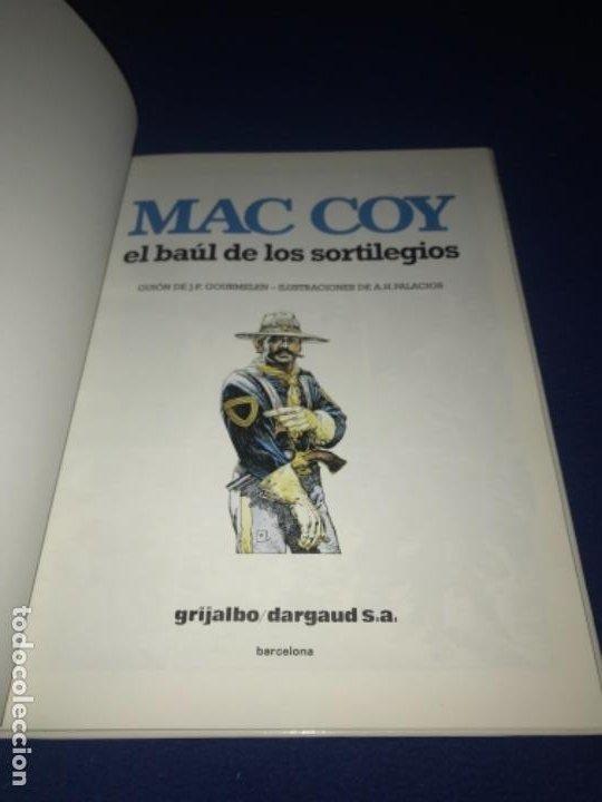 Cómics: MAC COY Nº 18 EL BAÚL DE LOS SORTILEGIOS. GRIJALBO 1994 MUY BUEN ESTADO DIFICIL !!!! - Foto 2 - 205325956