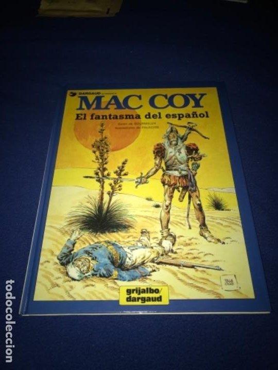 MAC COY Nº 16 - EL FANTASMA DEL ESPAÑOL - A.H.PALACIOS - GRIJALBO 1991 MUY BUEN ESTADO (Tebeos y Comics - Grijalbo - Mac Coy)