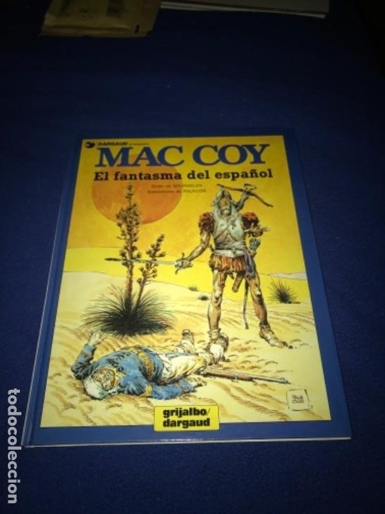 Cómics: MAC COY Nº 16 - EL FANTASMA DEL ESPAÑOL - A.H.PALACIOS - GRIJALBO 1991 MUY BUEN ESTADO - Foto 2 - 205326497