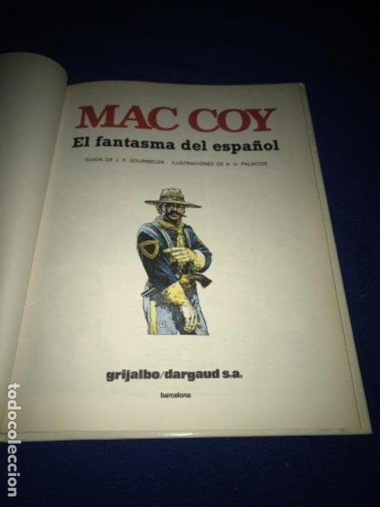 Cómics: MAC COY Nº 16 - EL FANTASMA DEL ESPAÑOL - A.H.PALACIOS - GRIJALBO 1991 MUY BUEN ESTADO - Foto 4 - 205326497