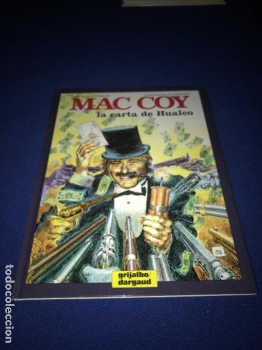 MAC COY LA CARTA DE HUALCO - NÚMERO 19 - TAPA DURA - EDICIONES JUNIOR PERFECTO (Tebeos y Comics - Grijalbo - Mac Coy)