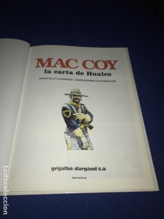 Cómics: MAC COY LA CARTA DE HUALCO - NÚMERO 19 - TAPA DURA - EDICIONES JUNIOR PERFECTO - Foto 2 - 205359822