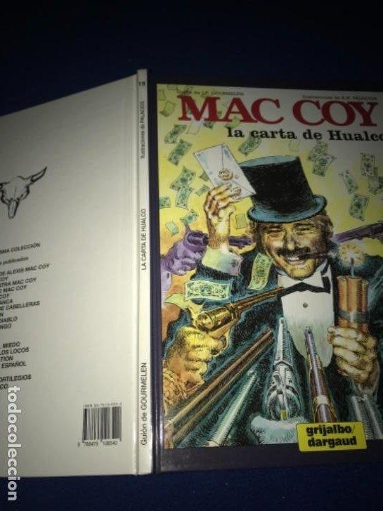 Cómics: MAC COY LA CARTA DE HUALCO - NÚMERO 19 - TAPA DURA - EDICIONES JUNIOR PERFECTO - Foto 9 - 205359822